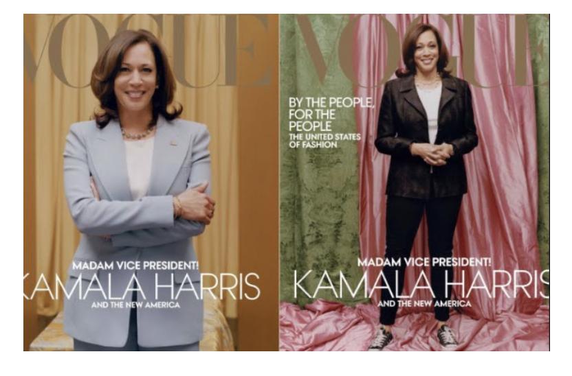 Kamala Harris' February Vogue Cover